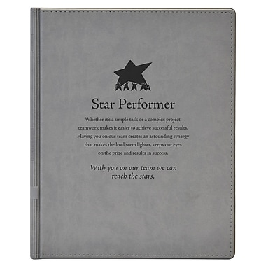 Baudville® Notepad Holder, Star Performer