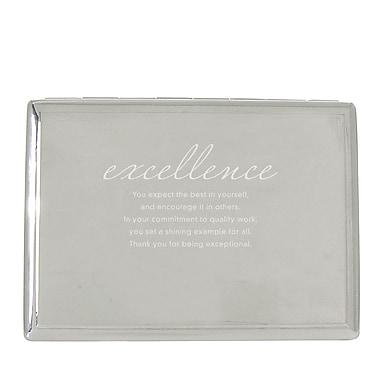 Baudville® Desktop Perpetual Calendar With Organizer, Excellence