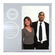 Baudville® Silver Photo Frame, Thanks for All You Do!