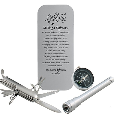 Baudville® Adventurer Gift Set, Starfish: Making a Difference