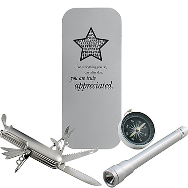 Baudville® in.You are Truly Appreciatedin. Adventure Gift Set