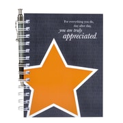 Baudville® Hardcover Journal With Pen, You Are Truly Appreciated