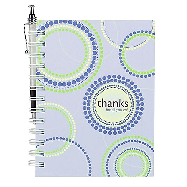 Baudville® Hardcover Journal With Pen, Thanks for All You Do!