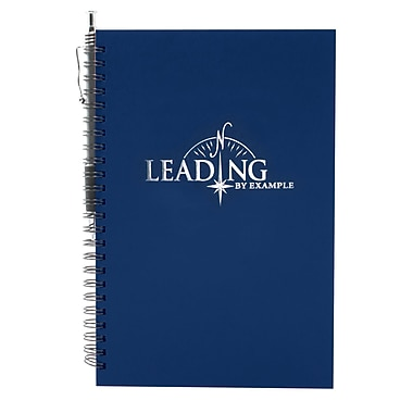 Baudville® Foil-Stamped Journal With Pen, Leading by Example