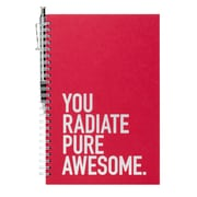 Baudville® Foil-Stamped Journal With Pen Set, Exclamations