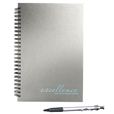 Baudville® Foil-Stamped Journal With Pen, Excellence