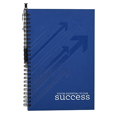 Baudville® Foil-Stamped Journal With Pen, You're Essential to Our Success
