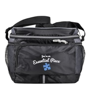 Baudville® Adventure Cooler Bag, Essential Piece Blue