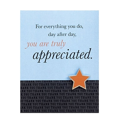 Baudville® Character Pin With Card, You Are Truly Appreciated