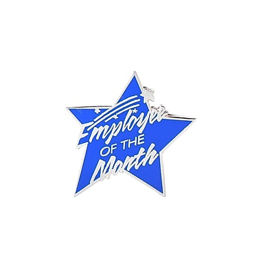 Baudville® Lapel Pin, Employee of the Month - Multi Color