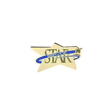 Baudville® Lapel Pin, Star Service