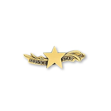 Baudville® Lapel Pin, Star Dream Service Star