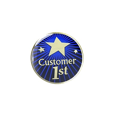 Baudville® Lapel Pin, Customer 1st
