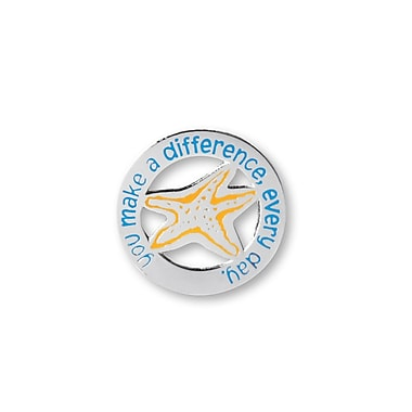 Baudville® Lapel Pin, You make a difference, Every Day
