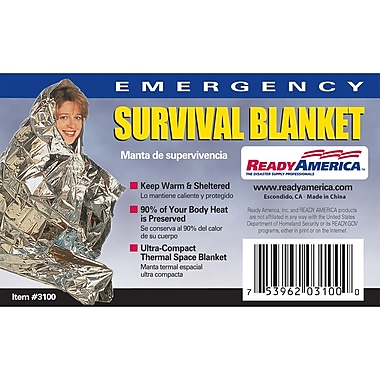 Ready America™ Emergency Survival Blanket