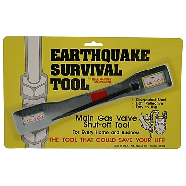 Ready America™ QuakeHOLD!™Manual Gas Shut Off Earthquake Wrench