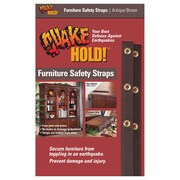 "Ready America™ QuakeHOLD!™ 15"" Furniture Strap Kits"