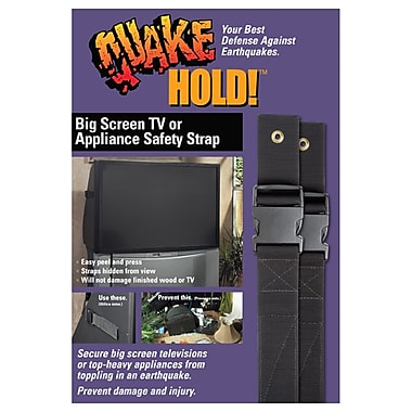 Ready America™ QuakeHOLD!™ Big Screen and Appliance Strap