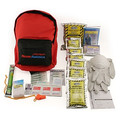 Ready America™ Grab 'N Go 1 Person 3 Days Backpack Emergency Kit