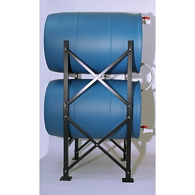 Titan Ready Water Barrel Rack System With Barrels