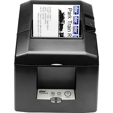 Star Micronics® TSP650 Series 203 dpi 11.81 inch/sec Direct Thermal Printer, Gray