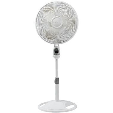 Lasko® 1646 16in. Remote Control Stand Fan, White