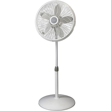 Lasko® 1820 18in. Elegance & Performance Pedestal Fan, White