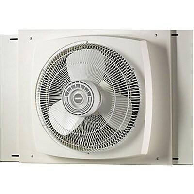 """""""""""Lasko 2155A 16"""""""""""""""" Electrically Reversible Window Fan, White"""""""""""" 206177"""