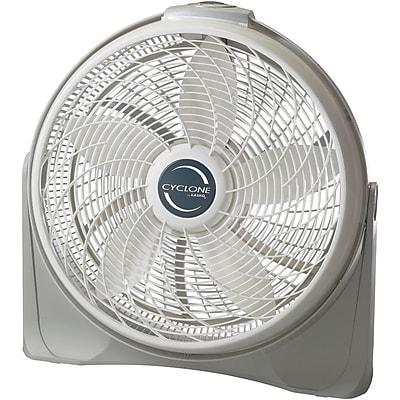 """""""""""Lasko 3520 20"""""""""""""""" Cyclone Pivoting Floor Fan, White"""""""""""" 205760"""