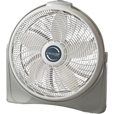 Lasko® 3520 20in. Cyclone Pivoting Floor Fan, White