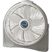 "Lasko® 3520 20"" Cyclone Pivoting Floor Fan, White"