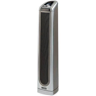 Lasko® 5588 1500 W Ceramic Tower Heater With Logic Center Remote Control, Gray