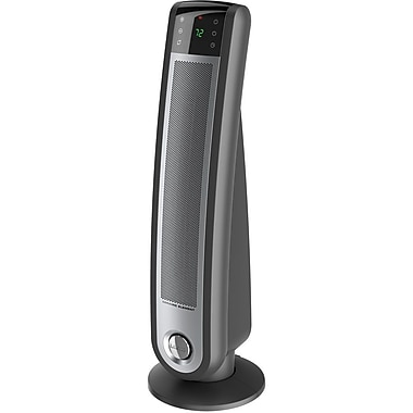 Lasko® 5591 1500 W Touch Control Ceramic Tower Heater With Remote Control, Silver