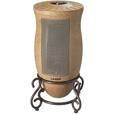 Lasko® 6405 1500 W Designer Series Oscillating Ceramic Heater, Tan
