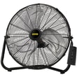 Lasko® 655650 20in. High Velocity Remote Control Stanley Floor Fan, Black