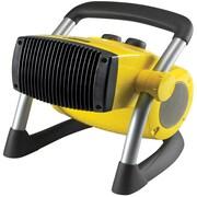 Lasko® Stanley® 675919 1500 W Pro Ceramic Utility Heater With Pivot Power, Yellow/Black