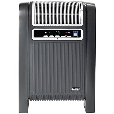 Lasko® 760000 1500 W Cyclonic Ceramic Heater With Remote Control, Black