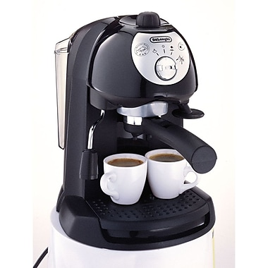 Delonghi BAR32 Pump Driven Espresso/Cappuccino Maker, Black
