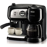 Delonghi BCO264 Cafe Nero Combo Coffee and Espresso Maker, Black