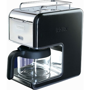 Delonghi Kmix DCM02 5 Cup Coffee Maker, Black