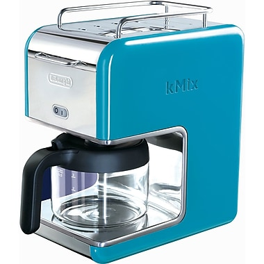 Delonghi Kmix DCM02 5 Cup Coffee Maker, Blue