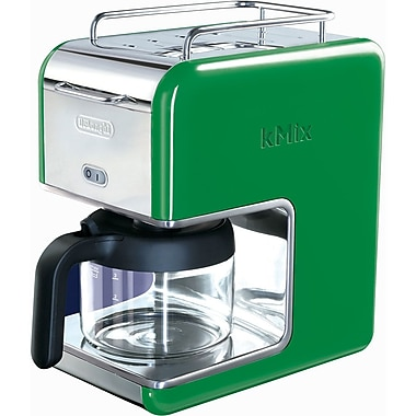 Delonghi Kmix DCM02 5 Cup Coffee Maker, Green