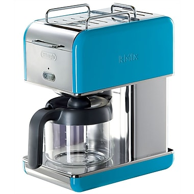 Delonghi Kmix DCM04 10 Cup Coffee Maker, Blue
