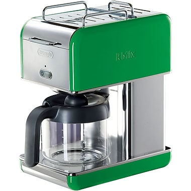 Delonghi Kmix DCM04 10 Cup Coffee Maker, Green