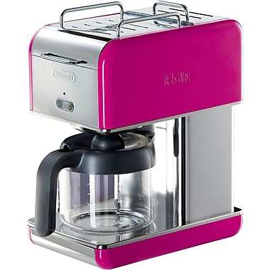 Delonghi Kmix DCM04 10 Cup Coffee Maker, Magenta