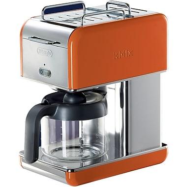 Delonghi Kmix DCM04 10 Cup Coffee Maker, Orange