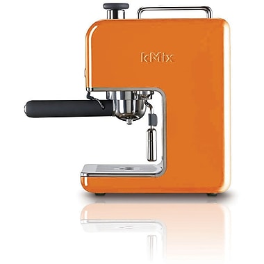 Delonghi Kmix DES02 15 Bar Pump Coffee Maker, Orange