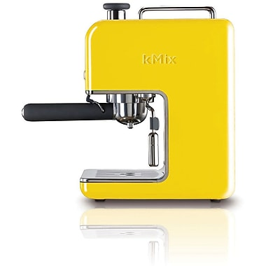 Delonghi Kmix DES02 15 Bar Pump Coffee Maker, Yellow