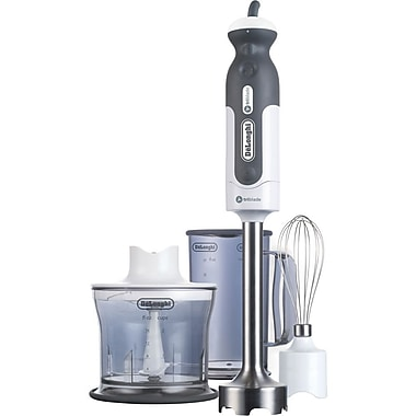 Delonghi 380 W Tri-Blade 2-Speed Hand Blender With Chopper Whisk and Beaker
