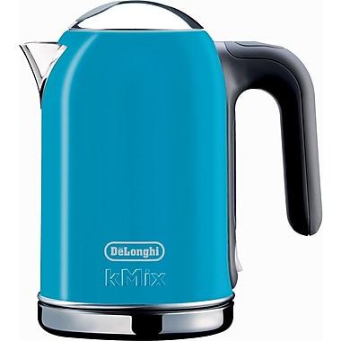 Delonghi DSJ04 1.6 Liter Electric Tea Kettle With Water Level Indicator, Blue